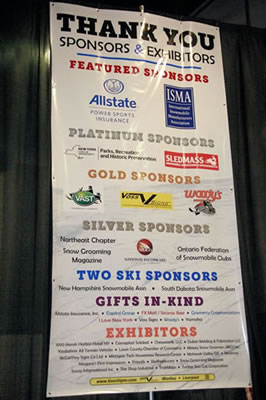 NYSSA is grateful for the many sponsors that supported the ISC2015 event. Photo by Jane Chaddock.