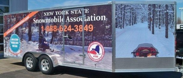 Large Safety Trailer sponsored by Allstate