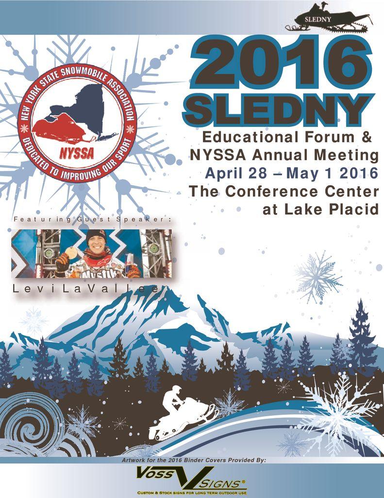 2016 Forum Book (Lake Placid)